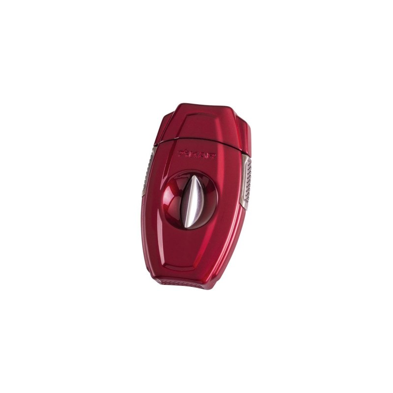 Xikar VX2 V-CUT Red, Cigar cutter, Guillotine Cutter