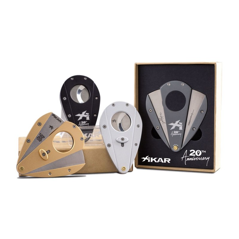 Xikar Cigar Cutters XI1, 20th Anniversary 4 PCS Limited Edition.