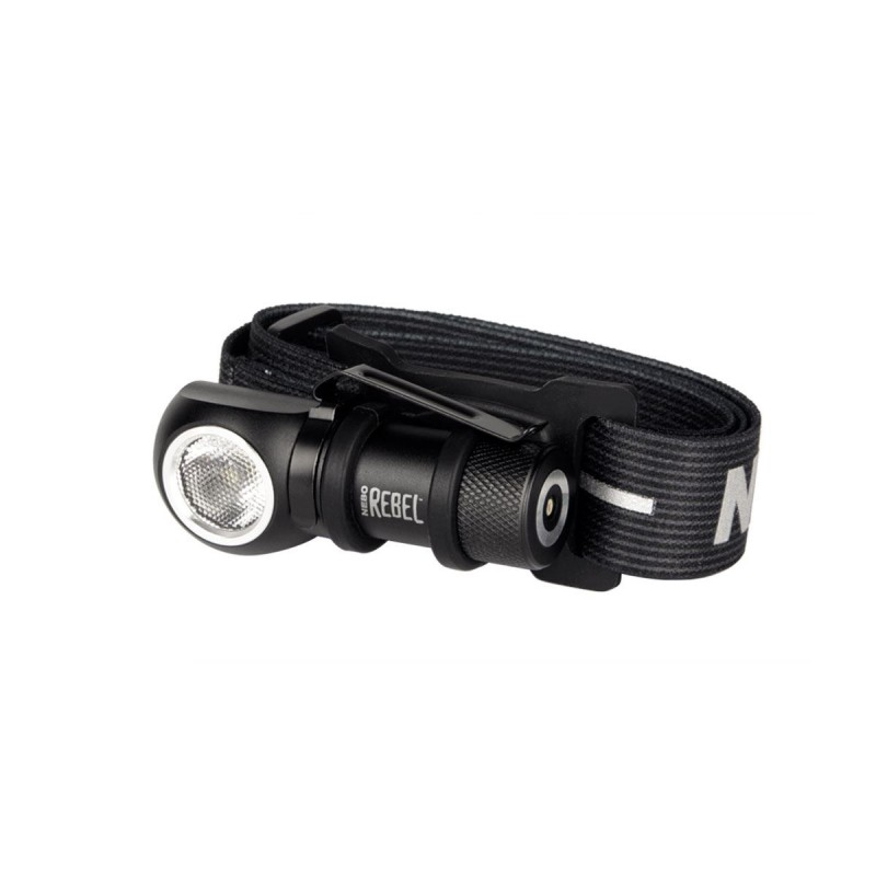 Torcia Frontale Nebo Rebel Headlamp, Torcia led Ricaricabile 600 Lumens.