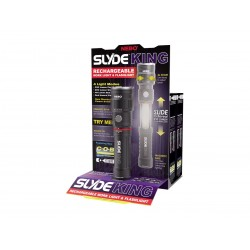 Torcia led Slyde King 250 Lumens, Torcia a led ricaricabile.
