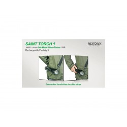 Nextorch Saint Torch 1, 1000 Lumens, Led flashlight / military torch