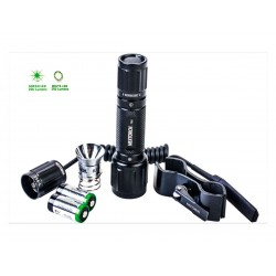 Torcia led Nextorch T6G Green 350 Lumens. (Led flashlight).