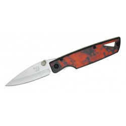 Coltello Buck Lighting HTA II 170 Red, Coltello Vintage Usa 2004 (pocket knife)