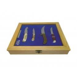 Set of 4 knives for anniversary 100 years Buck. limited edition