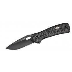 Buck 846BKX Vantage force Avid Total black knife, hunter knife