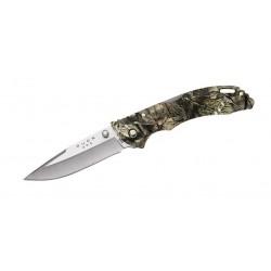 Buck 285CMS Bantam BHW mossy oak camo knife, hunter knife.