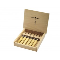 Opinel knives box, Opinel Set Inox v. nature, gift box, Opinel Outdoor.