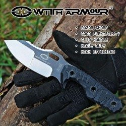 Coltello Witharmour Mammoth Fixed Blade, lama full tang (EDC knives)