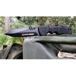 Witharmour Racketeer Black, military knives.