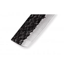 Coltelli da cucina Samura Blacksmith, coltello giapponese Nakiri. Cm 16,8