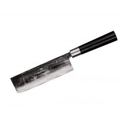 Samura Super 5 kitchen knife, Nakiri Cm 17 knife
