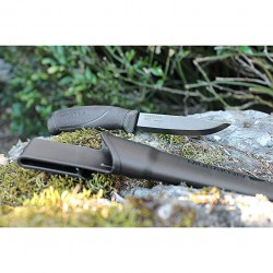 Coltello Morakniv Companion Total Black, Made in Sweden.