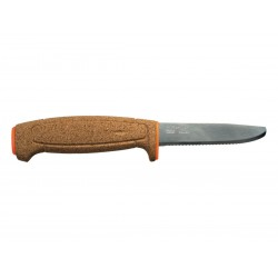Coltello da pesca Morakniv (floating serrated knife), Made in Sweden.