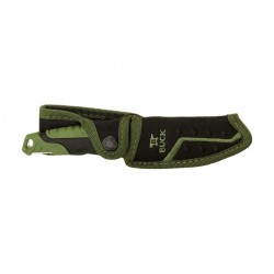 Buck Pursuit Small Green 0658GRS, full tang, survival knife.
