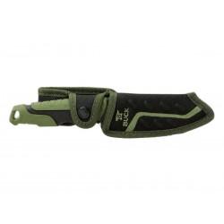 Coltello Buck Pursuit large Green 0656GRS, coltello full tang, Coltello da sopravvivenza.