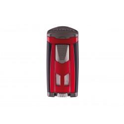 Cigarette lighter HP3 inline triple Daytona Red, Xikar
