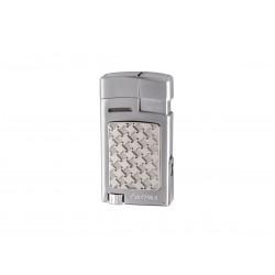 Cigarette lighter strong soft flame Silver, Xikar