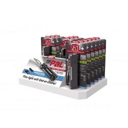 Led Flashlight NEBO PAL + Rechargeable 400 Lumens