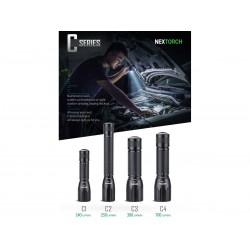 Led Flashlight NEXTORCH C3 380 Lumens LED (tactical flashlight)