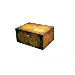 Old World 100 cigar cigar humidifier, by Humidor Supreme.