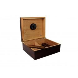 Humidor Quality Importrs Capri mahogany 20-50 cigars