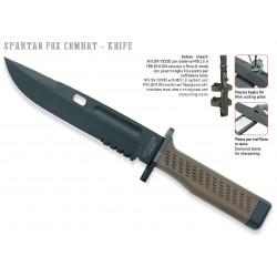 Coltello Spartan della Fox, coltello militare Fox Knives, Fixed Blade