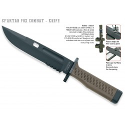 Fox Spartan knife, Fox Knives military knife, Fixed Blade