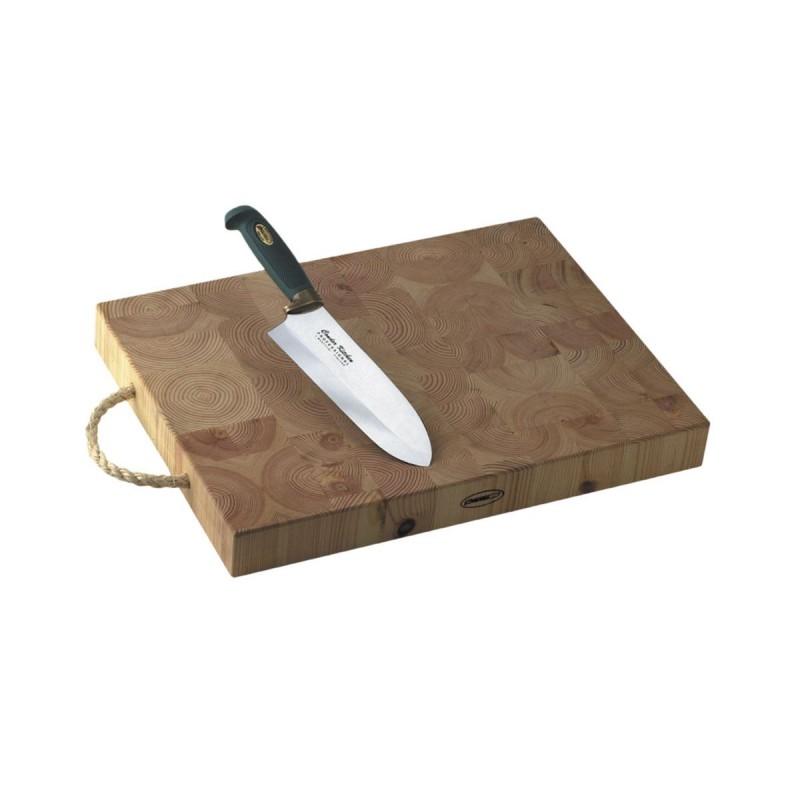 Tagliere tassellato con coltello Marttiini da pesto Condor