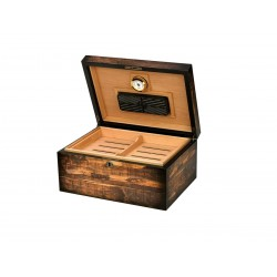 Humidifier Quality Importers adirondack for 100 cigars, wooden table Humidor
