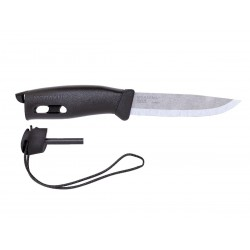 Morakniv Companion Spark black knife, made in sweden