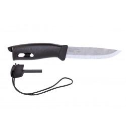 Morakniv Companion Spark schwarzes Messer, hergestellt in Schweden