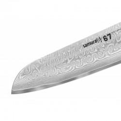 Samura 67 Damascus knife santoku damask cm.17.5
