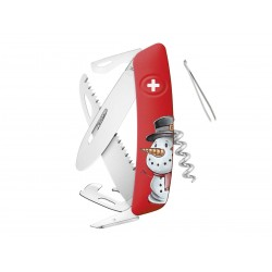 Swiss Swiza J06 Junior Christmas Snowman knife