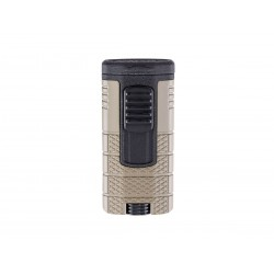 Cigar lighter Xikar tactical triple model tan / black color
