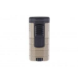 Cigar lighter Xikar tactical triple model tan / black color