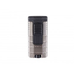 Cigar lighter Xikar model tactical triple color gunmetal / black
