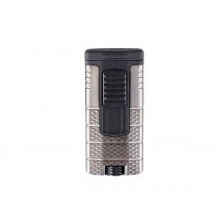 Cigar lighter Xikar model tactical triple color gunmetal / black
