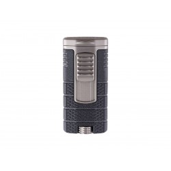Cigar lighter Xikar model tactical triple black / gun metal color