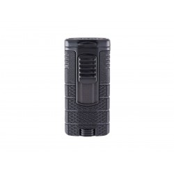 Cigar lighter Xikar tactical triple model black color