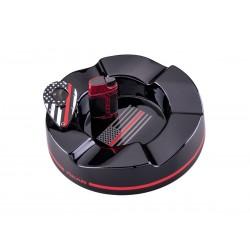 Xikar gift kit, red line (Ashtray / ELK Cigar lighter / X1 Cigar cutter)