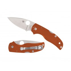 Spyderco Native 5 G10 Rex 45 Burnt Orange C41GPBORE5