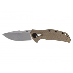Zero Tolerance 0308 KVT G10 COYOTE TAN 20CV SW