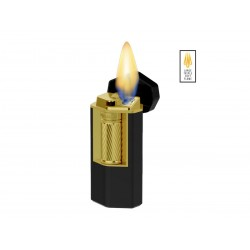 Cigar lighter Xikar Meridian soft flame black / gold