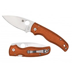 Spyderco Shaman G10 Rex 45 Burnt Orange C229GPBORE
