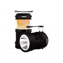 Camping Laterne, NEBO Big Poppy Lantern Wiederaufladbare 300 Lumen LED (mit Display)