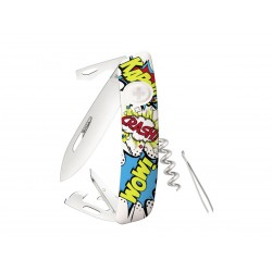 Swiza D03 Swiss knife model Pop Art 3 White