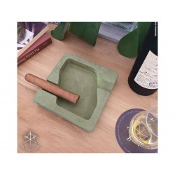 Les Fines Lames Ashtray for Cigars DYAD GREEN
