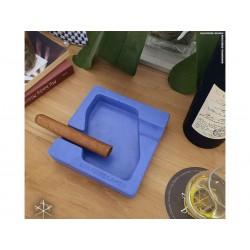 Les Fines Lames Aschenbecher für Zigarren DYAD BLUE