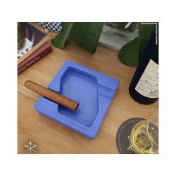 Les Fines Lames Ashtray for Cigars DYAD BLUE