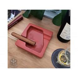 Les Fines Lames Aschenbecher für Zigarren DYAD RED